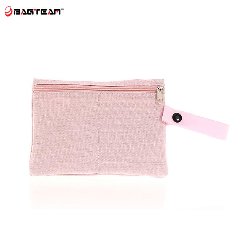 Bagteam 2014新款包包 潮男女包简约格子收纳袋小包笔袋化妆包850