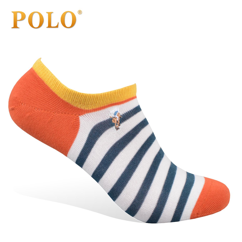 POLO男士袜子 10双礼盒装夏款薄潮 男短袜 船袜棉袜男袜