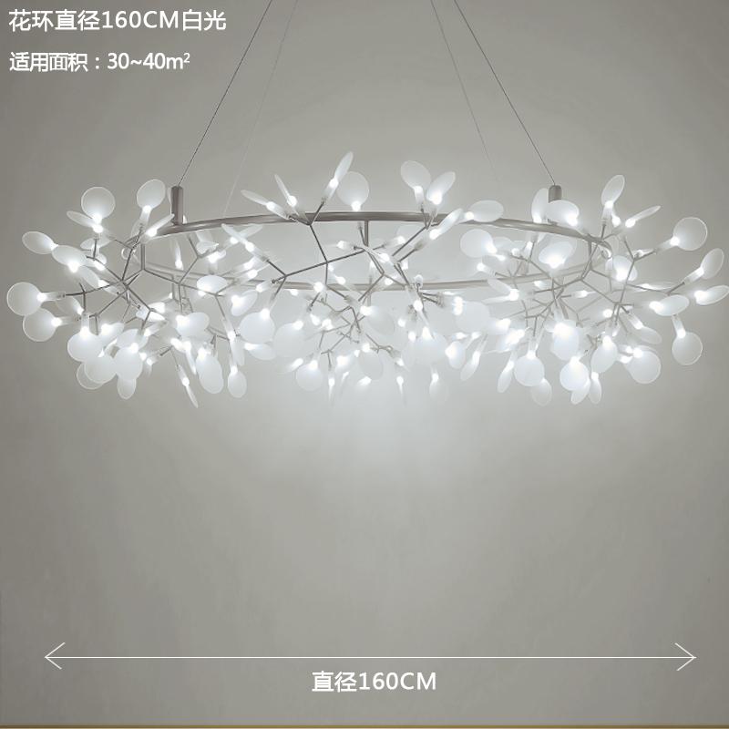 Цвет: Диаметр кольцевой 160см белый свет