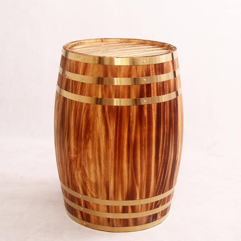 【丹香艺官网】橡木桶225l升装饰定做加工酒庄摄影桶