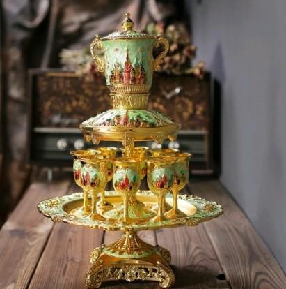 Цвет: Высокий зеленый золотой Дворец