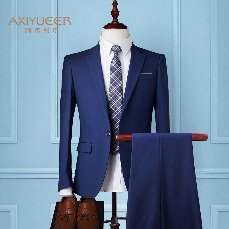 Color: Royal Blue (suit + trousers)