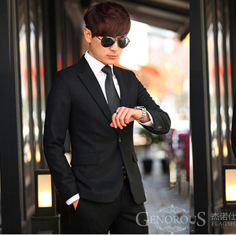 Color: One black suit
