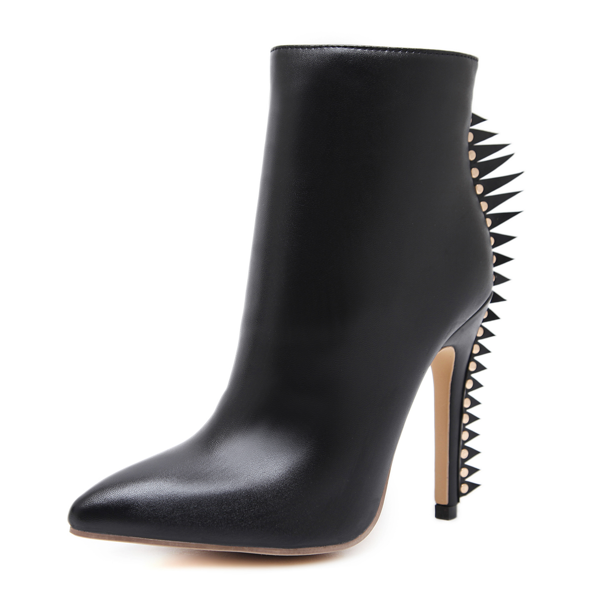 Features serrated heel boots's main photo