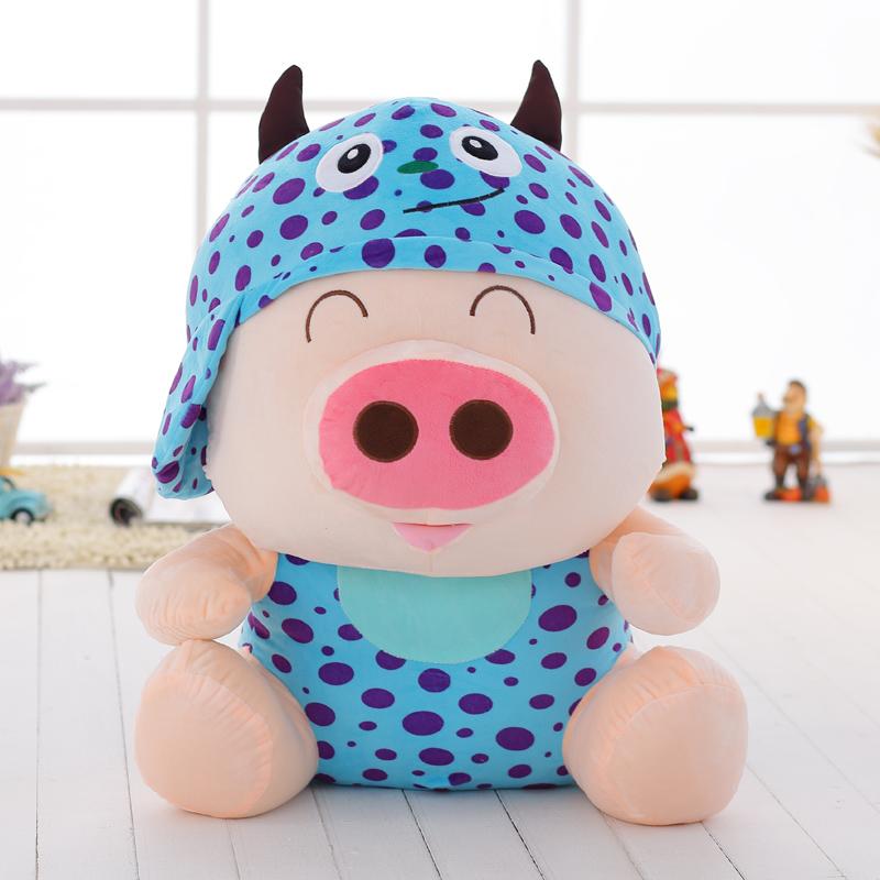 麦兜龙猫熊猫公仔麦兜猪猪玩偶布娃娃毛绒玩具生日