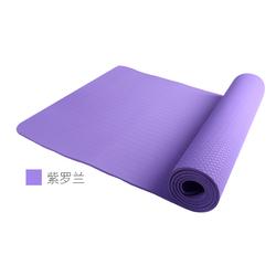 茗菲瑜tpe瑜伽垫防滑无味健身垫子女士初学者加厚加宽加长瑜珈毯