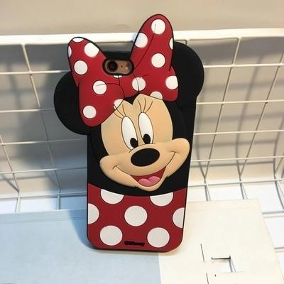 3d创意迪士尼可爱卡通人物米妮手机套