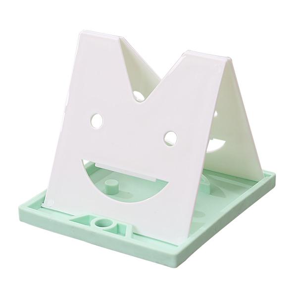 笑臉可折疊鍋墊湯勺子架鍋蓋架帶接水盤瀝水置物架廚房用品小工具