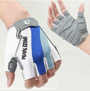 Цвет: Синий и белый полупальцевом перчатки