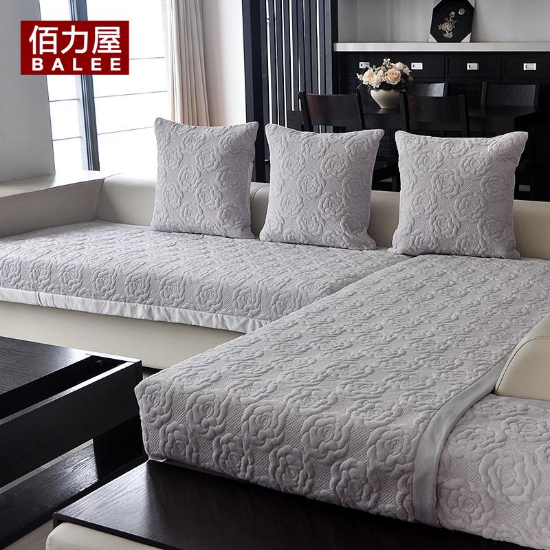 【佰力屋为乐专卖店】欧式沙发垫坐垫田园布艺坐垫套