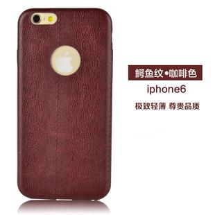 iPhone6s 手机壳 苹果5.5plus真皮保护套