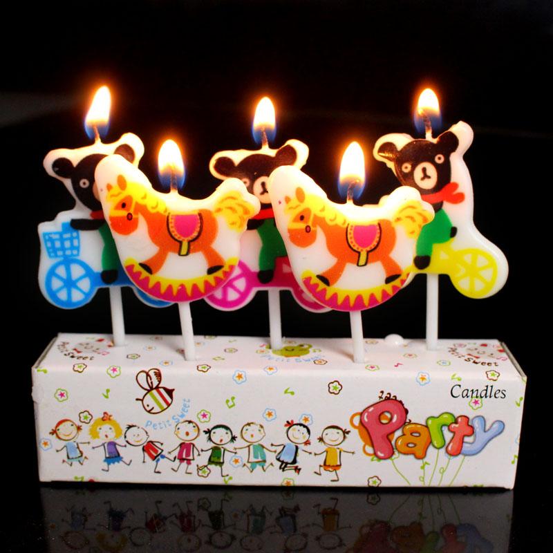 儿童生日派对数字蜡烛 儿童生日蛋糕蜡烛配件 宝宝周岁创意蜡烛