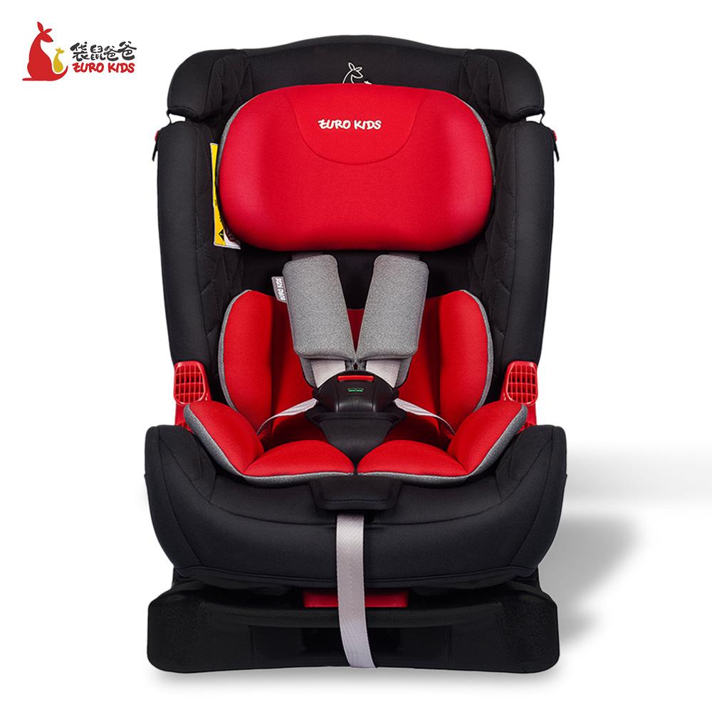 袋鼠爸爸eurokids儿童安全座椅车用0到6岁宝得适同厂出品