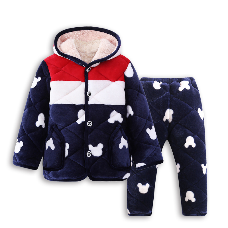Color classification: Navy, red and white Mickey