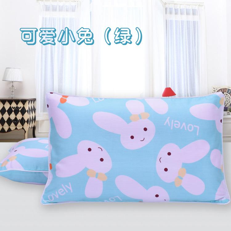 Цвет: Любовь кролик зеленый (подушка+наволочка)