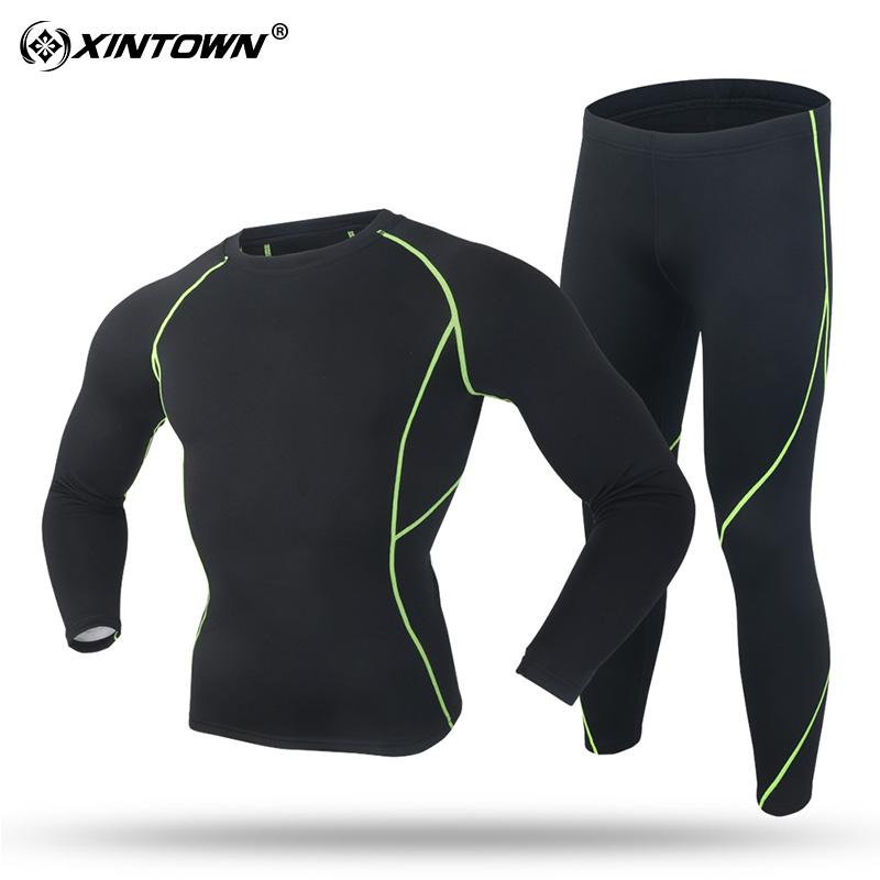 Цвет: Тепловой костюм, черный и зеленый