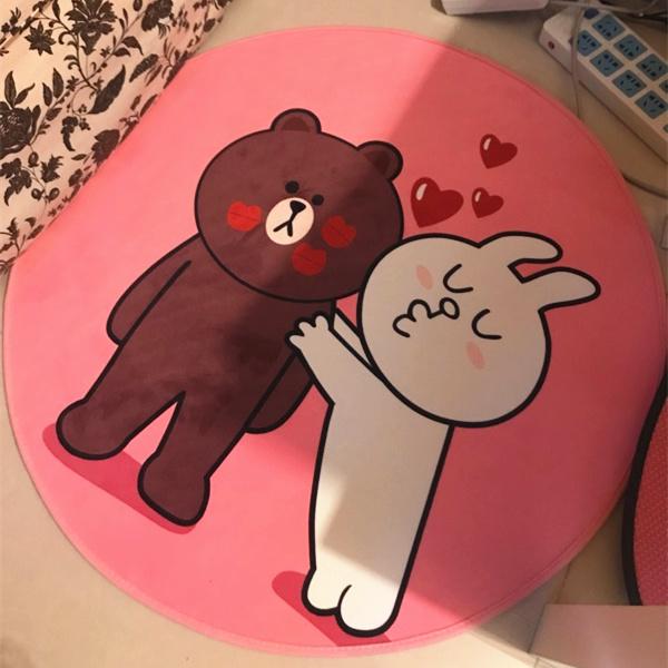 Цвет: Арбуз красный медведь и заяц