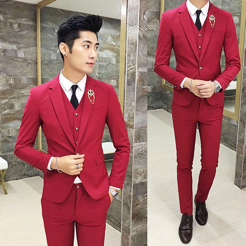 Цвет: Красный костюм + брюки