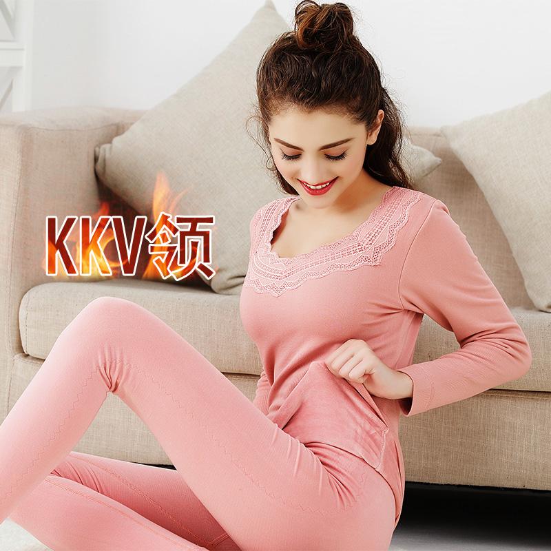 Цвет: Бледно-розовый КК-V-образным вырезом