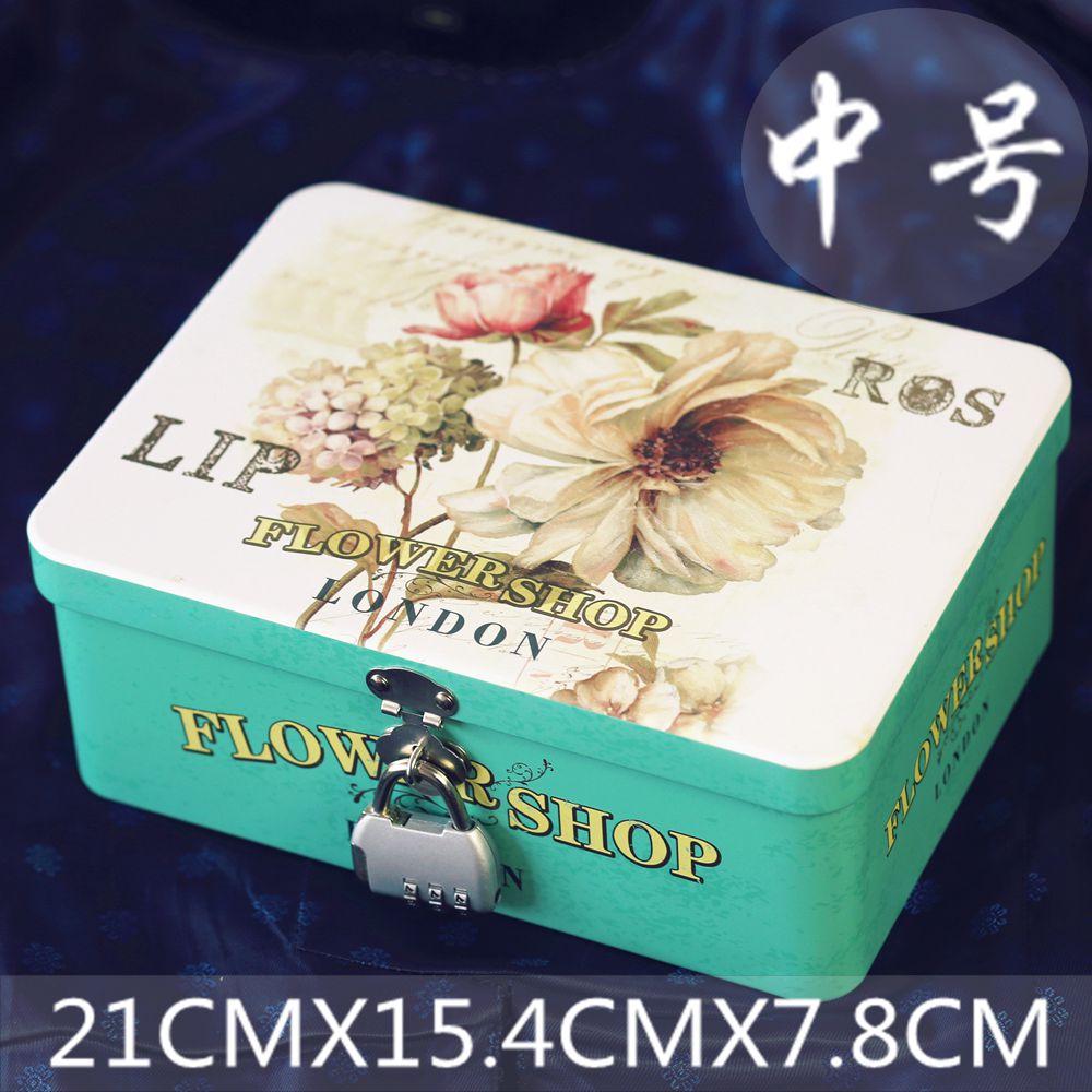 Цвет: 中花店铁盒