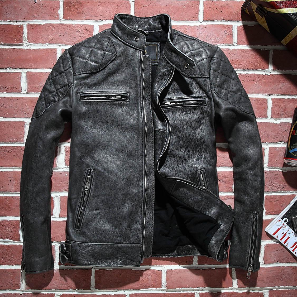 Как сделать мужскую кожаную куртку в 611
