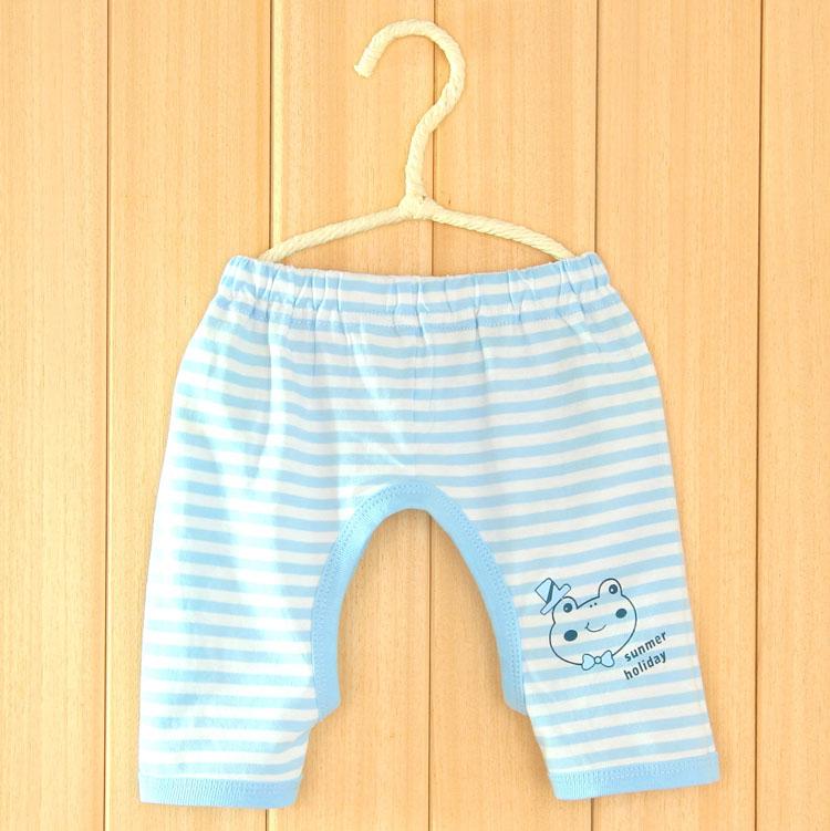 Цвет: Голубой полосой вверх брюки