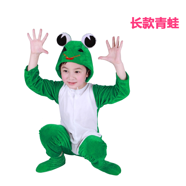 Color classification: Green long frog