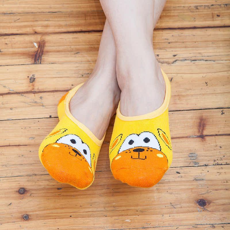 成人防滑胶底浅口地板袜可爱女袜子床袜地毯袜鞋袜短袜棉船袜夏薄