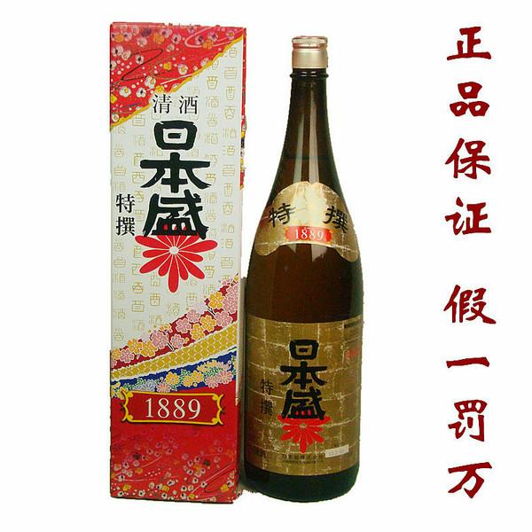 新包裝日本盛清酒 1.8L 純米釀造 ...