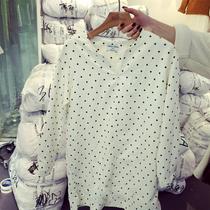 2015秋季新款韩版女装休闲百搭点点灯芯绒中长款连衣裙打底短裙
