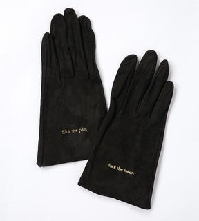日本UNDERCOVER 2015秋冬麂皮小羊皮手套