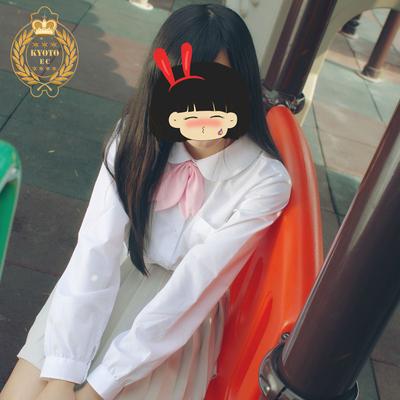 日本校服jk制服日系甜美女生丸襟圆领长袖衬衫套装中