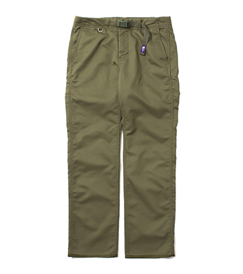 THE NORTH FACE 日本紫标 COOLMAX Stretch Twill Tapered Pants