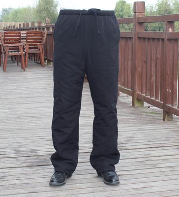 [新年价] 中老年棉裤男唐装裤子全松紧 加大加肥加厚棉麻休闲棉裤爷爷装