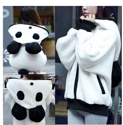 苛苛非主流女装少女生学生韩版潮秋天秋装冬天冬装可爱毛毛萌外套