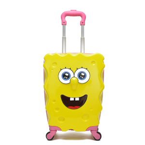 紫微星自拍图  海绵宝宝拉杆箱  行李包  男款 女款 小朋友 小学