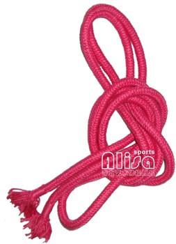 Alisa 单色艺术体操专用绳 (桃红色)