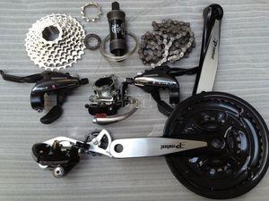 山地车24变速套件人气排行 正品 shimano禧玛诺24速山地自行车变速