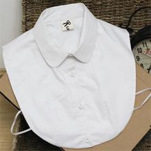 查看【大禾良品】原创纯白色复古假领女 领子 韩版 假领子衬衫