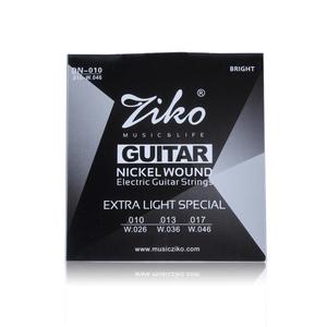 正品ziko 电吉他琴弦009/010电吉他1-6弦套弦 高档镀膜防锈吉他弦
