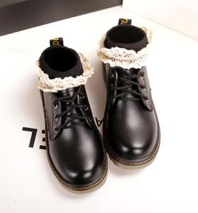 包邮短靴袜子女日系蕾丝花边镂空毛线全棉短袜春秋韩国森系女袜子