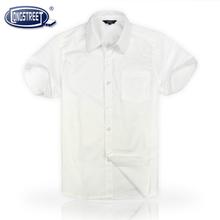 兰诗2017特价 英伦童装男生白色短袖衬衫正品DC-5150上衣