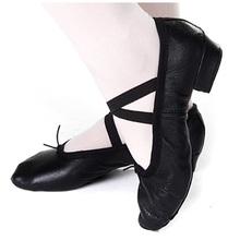 查看红舞鞋 舞蹈鞋软底鞋女式全皮教师鞋 练功鞋芭蕾舞鞋1020练功鞋