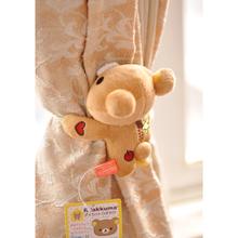 查看轻松小熊 轻松熊 创意卡通 毛绒公仔 玩偶 可爱窗帘扣/绑带/绑绳