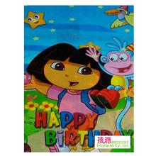 孩派/生日礼品/生日派对用品/生日聚会用品/Dora/朵拉回礼袋6个