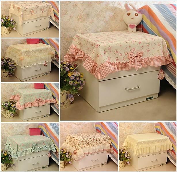 欧式床头柜电视柜防尘盖布餐桌茶几布长方形桌垫台布田园桌布布艺