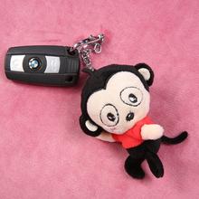 怕怕猴 汽车可爱卡通钥匙扣公仔 车用锁匙扣 钥匙扣挂件
