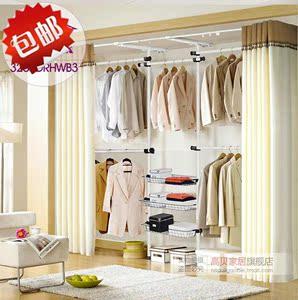 韩式简易布衣柜家具组装折叠布衣橱置物衣架DIY收纳柜衣帽间包邮价图片