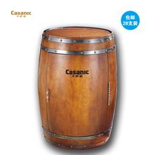 Casanic/卡萨诺 JD-68S橡木桶红酒柜 恒温复古实木葡萄酒柜