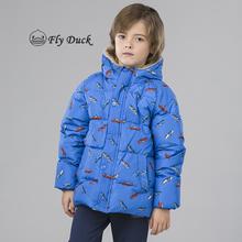 2017冬季新款童装儿童羽绒服儿童羽绒服卡通连帽外套新款儿童羽绒